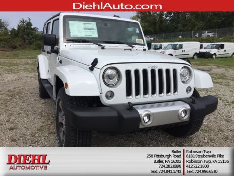 NEW 2017 JEEP WRANGLER UNLIMITED SAHARA 4X4