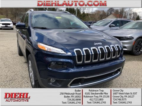 NEW 2018 JEEP CHEROKEE LIMITED 4X4