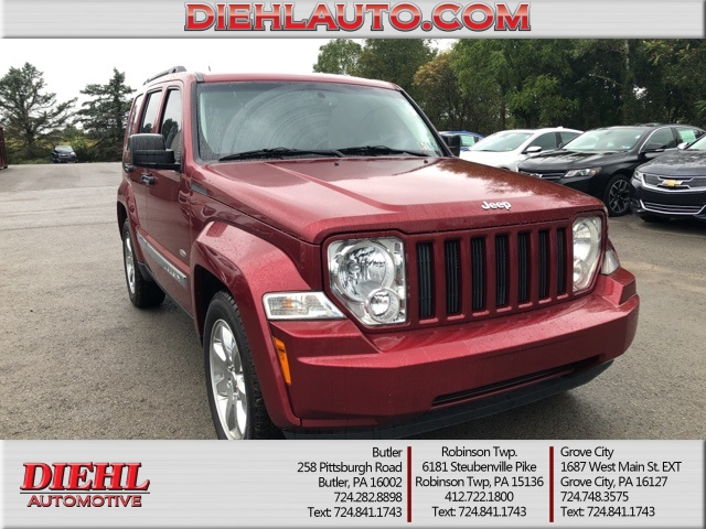 Perfect Pre Owned 2012 Jeep Liberty Sport