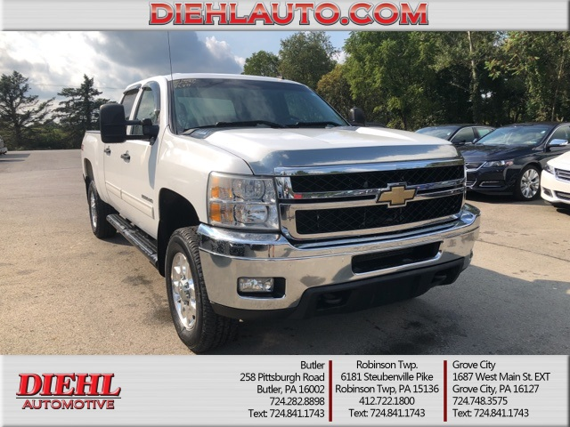 Pre Owned 2011 Chevrolet Silverado 2500hd Lt 4d Crew Cab In Mckees