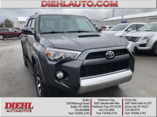 Pre Owned 2017 Toyota 4runner Limited