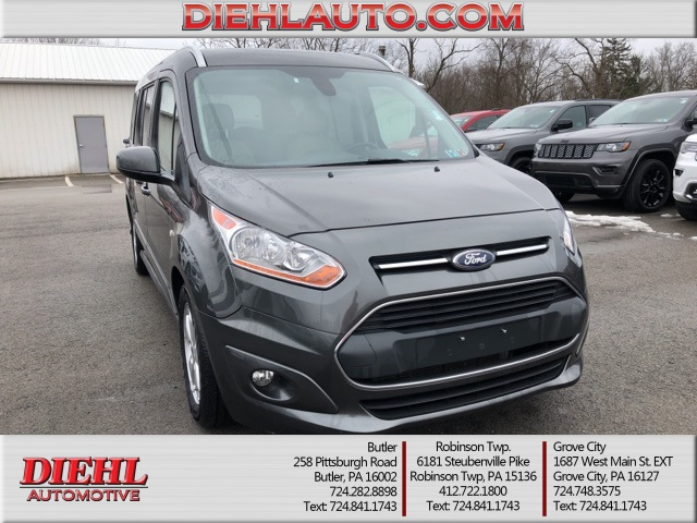 ed67cc1544 Pre-Owned 2016 Ford Transit Connect Titanium 4D Wagon in McKees ...