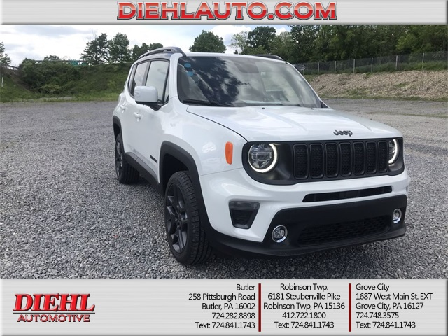 Jeep Renegade Limited >> New 2019 Jeep Renegade High Altitude 4x4