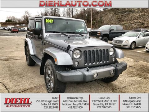 Pre-Owned 2017 Jeep Wrangler Willys Wheeler